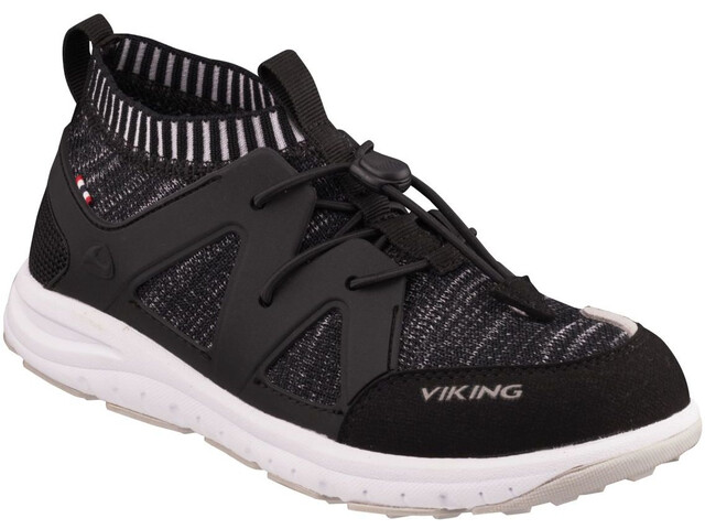 Viking Footwear Brobekk Chaussures Enfant, black/grey
